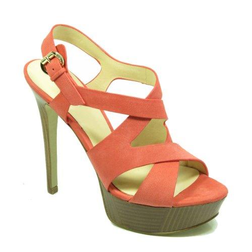 GUESS Fl1datlea03, Sandali donna rosso Size: EU 40