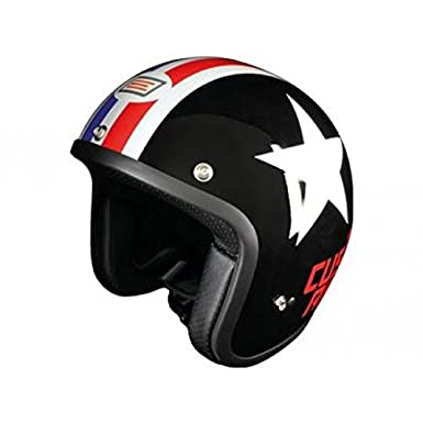 OR001114 - Casque Origine Primo Stunt Noir/Blanc/Rouge M
