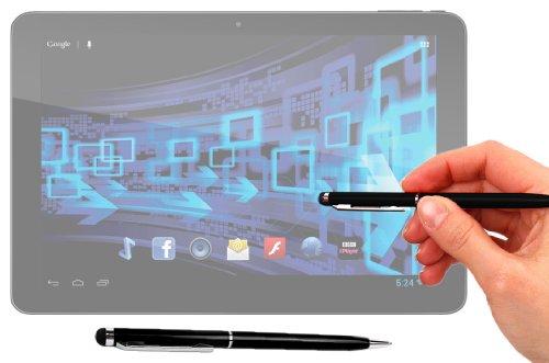 Duragadget Executive Gloss Black 2 In 1 Ball Point Pen With Stylus End For Panasonic Toughpad Fz-X1 & Toughpad Fz-E1