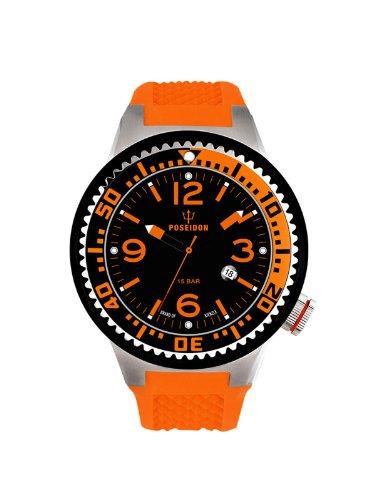 Kienzle Unisex Watch POSEIDON'S Analogue Quartz Silicone 2103013063-00417 K