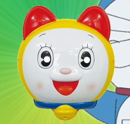 Mask dorami-Chan 6 pieces [Doraemon] and enjoy goods (paper balloons) with set