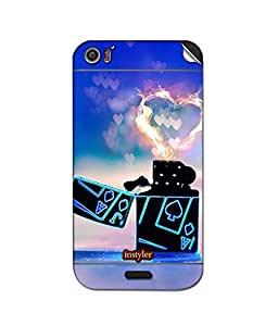 instyler SKIN STICKER FOR MICROMAX CANVAS DOODLE 2 A240
