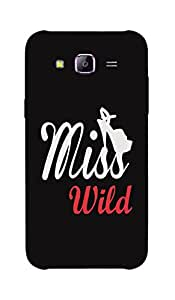 Back Cover for Samsung Galaxy J3 Miss Wild