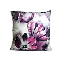 "The Bombay Store Cotton Cushion Cover - Floral Mix 8 L 16"" H 16"""