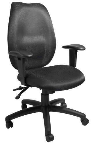 Boss High-Back Multi-Tilter Office Chair with Adjustable Arms