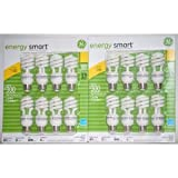 GE 13-Watt Energy SmartTM 60 Watt Replacement - 2 Packs of 8 Bulbs - 16 Total Bulbs