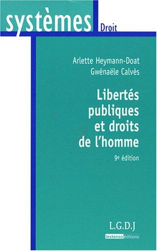 LIBERTES PUBLIQUES ET DROITS DE L'HOMME