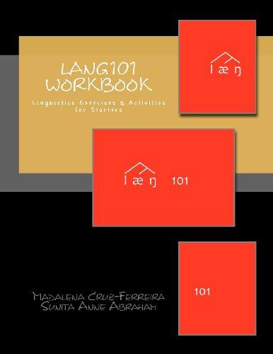 Lang101 Workbook: Linguistics Exercises & Activities for Starters