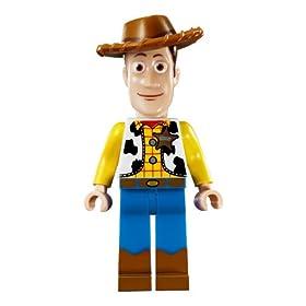 ウッディのレゴのミニフィグ
