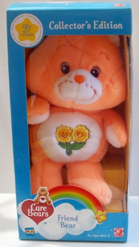 Care Bears 20Th Anniversary Collector'S Edition Plush - Friend Bear (2002) front-967044