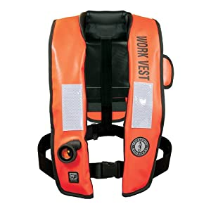 Mustang Inflatable Work Vest w/HIT Orange