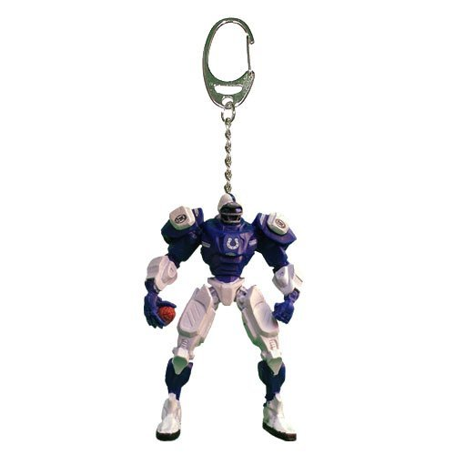 """NFL Indianapolis Colts 3"""" Team Cleatus FOX Robot NFL Team Key Chain Version 2.0"""