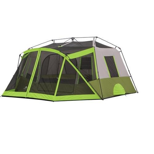 Ozark trail 9 person instant cabin tent camping outdoors for Small 2 room tent