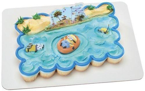Despicable Me Beach Party Decoset Cake Decoration