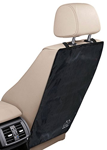 Best Deals! Kick Mats by Freddie and Sebbie - Luxury Car Seat Back Protectors 2 Pack, Perfect Backse...