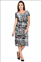 Selfiwear SW-664 Digital Printed Georgette Dress