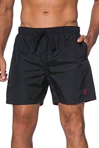 jp1880-homme-grandes-tailles-maillot-de-bain-short-de-sport-plage-beach-bermudas-bien-taille-uni-noi