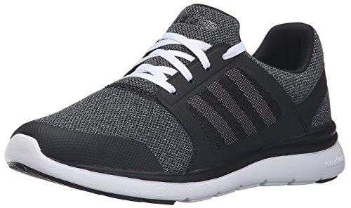Adidas Performance Women's Cloudfoam Xpression W Cross-Trainer Shoe, Black/White/Onix, 9.5 M US