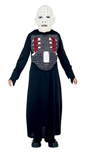 Boys Pinhead Kids Child Fancy Dress Party Halloween Costume