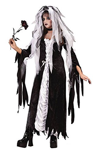 Bride Of Darkness Teen Halloween Costume - Most Teens