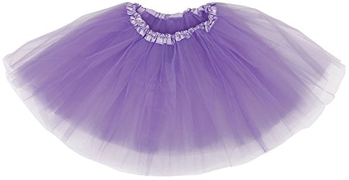 Women's 3 Layered Dance Tutu Skirt for Dress Up & Fairy Costumes,Lavender (Dance Costumes On Line)
