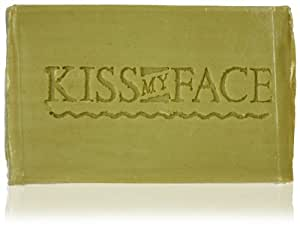 Bar Soap -Pure Olive Oil Kiss My Face 4 oz Bar Soap