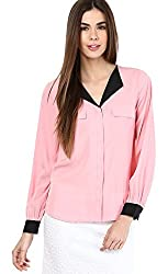Only Women'S Casual Shirt (_5712418184177_Peony_38_)