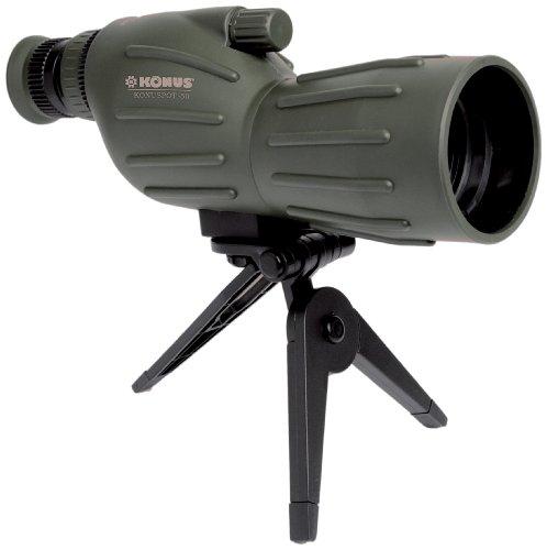 Konuspot 15X-45X50 Zoom Spotting Scope with Mini Tripod-Clam Package