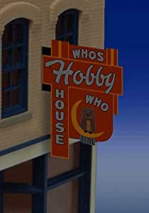 Miller Engineering 44 1452 Sm. Vertical Whos Hobby House by Miller Signs