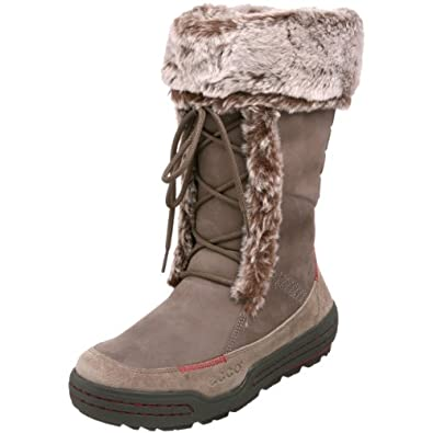 Amazon.com: ECCO Women's Siberia Walking Boot, Warm Grey