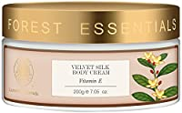 Forest Essentials Velvet Silk Vitamin E Body Cream, 200g