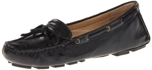 Frye Women's Reagan Campus Driver Dakota Black Penny Loafer 72285 8 UK