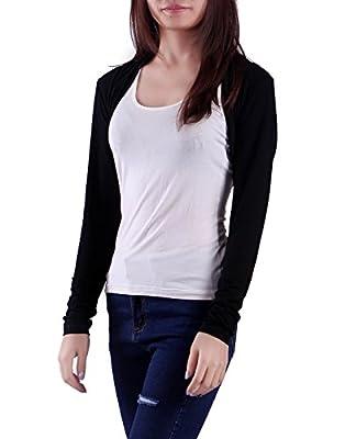 HDE Women's Bolero Long Sleeve Cardigan Shrug