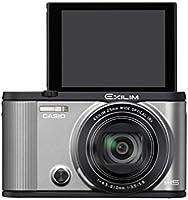 CASIO デジタルカメラ EXILIM EX-ZR1600SR 自分撮りチルト液晶 オートトランスファー機能 Wi-Fi/Bluetooth搭載 シルバー