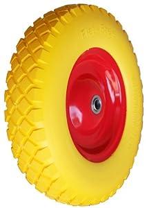 PU Rad 400 Schubkarrenrad Vollgummi 4.80/4.00-8 Gummirad 400mm