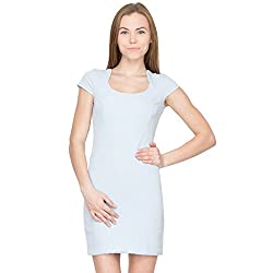 Species Women's A-line Dress (S-748_Sky Blue_X-Small)