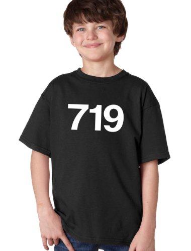 719 Area Code Youth Unisex T-Shirt / Alamosa, Leadville, Monte Vista