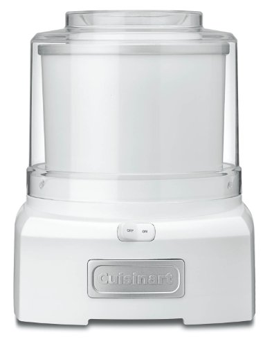 New Cuisinart ICE-21 Frozen Yogurt-Ice Cream & Sorbet Maker, White