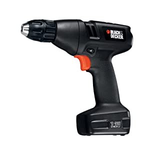 Black & Decker 9099KC 7.2-Volt Cordless Drill with Keyless Chuck