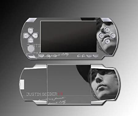 Justin Bieber Singer My World game Decal Cover SKIN 12 for Sony PSP 1000 Playstation Portable
