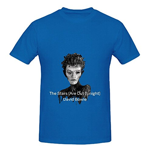 David Bowie The Stars Are Out Tonight Soul Men Crew Neck Design Shirt Blue (How To Make A Holster compare prices)