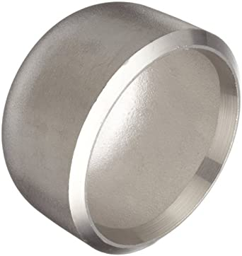 Stainless Steel 304/304L Butt-Weld Pipe Fitting, Cap, Schedule 40