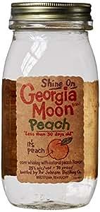 Georgia Moon Peach Corn Whiskey 75cl