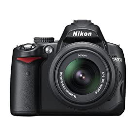 41cIkiUKeOL. SL500 AA280  Nikon D5000 12.3MP DX Digital SLR Camera with 18 55mm f/3.5 5.6G VR Lens   $629 Shipped