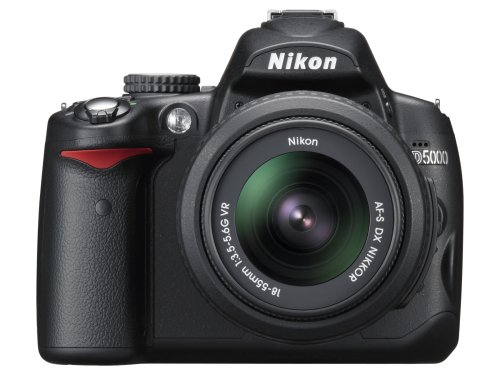Nikon D5000 (with 18-55mm VR Lens) is one of the Best Digital SLR Cameras Overall Under $1100