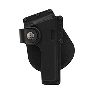 Fobus Tactical Speed Holster Paddle GLT17 Glock 17,22,31 / Ruger 345 / Berretta PX Storm / S&W M&P Full Size / Berretta PX4 Storm Full Size / S&W 99 Full Size 9/40/45 / Walther 99 Full Size 9/40 / Ruger SR9 / Sig 226 holds Handgun with Laser or Light