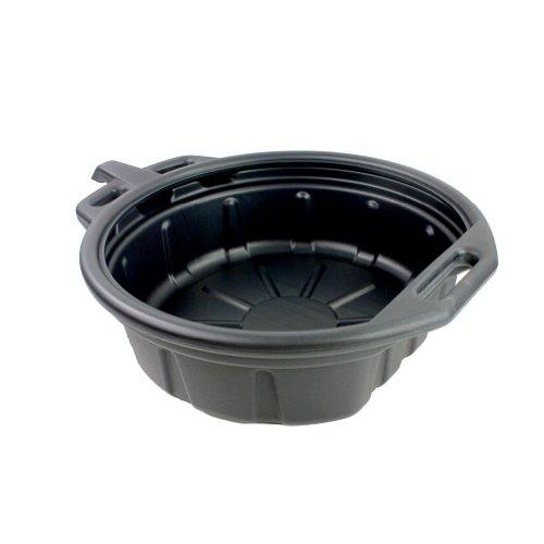 Capri Tools CP21024 Portable Oil Drain Pan, 2 gallon, Black (Antifreeze Drain Pan compare prices)