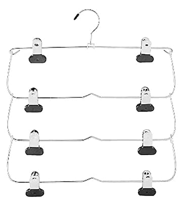 Whitmor 6021-185 4 Tier Skirt Hanger