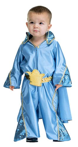 [Infant Rock Star Costume] (Elvis Costumes Cape)
