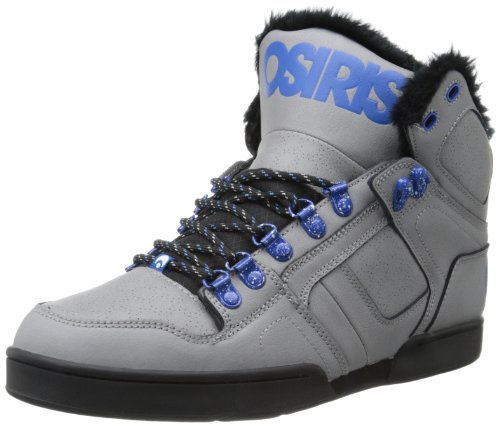 Osiris Shoes Unisex-Adult NYC83 SHR Grey/Blue/Camp Skateboarding 9 UK, 43 EU